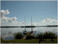 Mazury, domki nad jeziorem Świecajty
