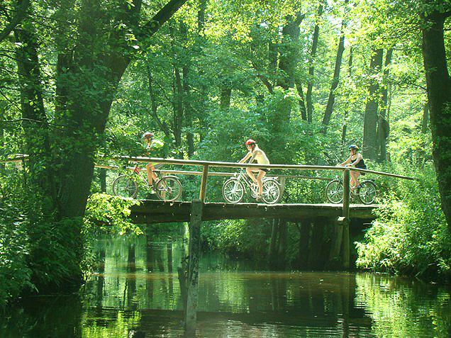 Ścieżki rowerowe na Mazurach