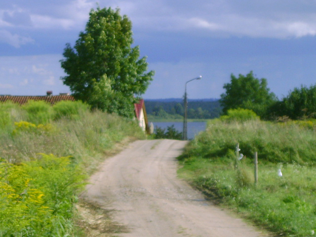 Na drodze do wsi KAL
