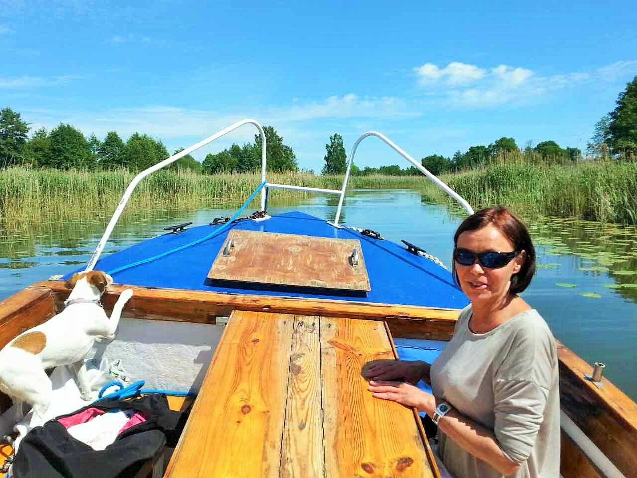 Nasza PEREŁKA na szlaku wielkich jezior mazurskich