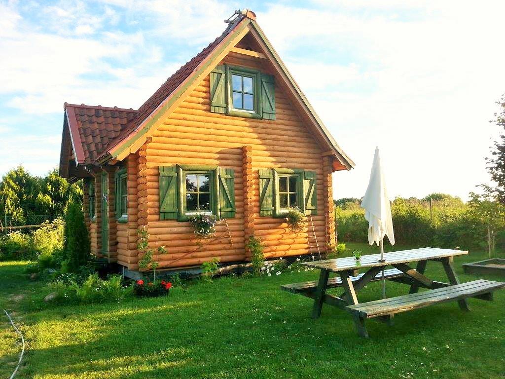 Domki letniskowe na Mazurach, domek nr.3 w miejscowości Kal nad jeziorem Święcajty
