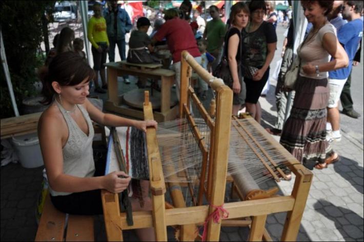 Węgorzewo - miedzynarodowy jarmark sztuki ludowej