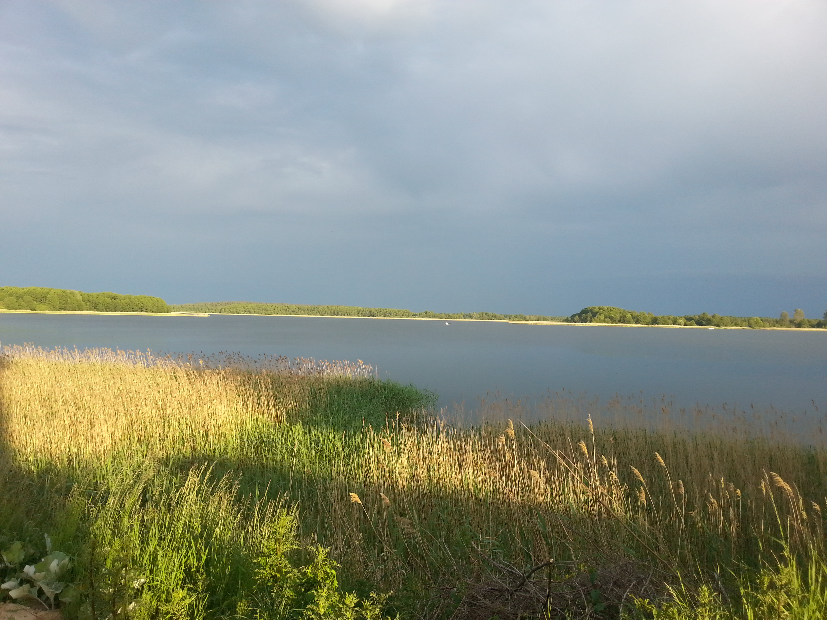 Jezioro Święcajty, Róg Kalski, noclegi na Mazurach, domki nad jeziorem
