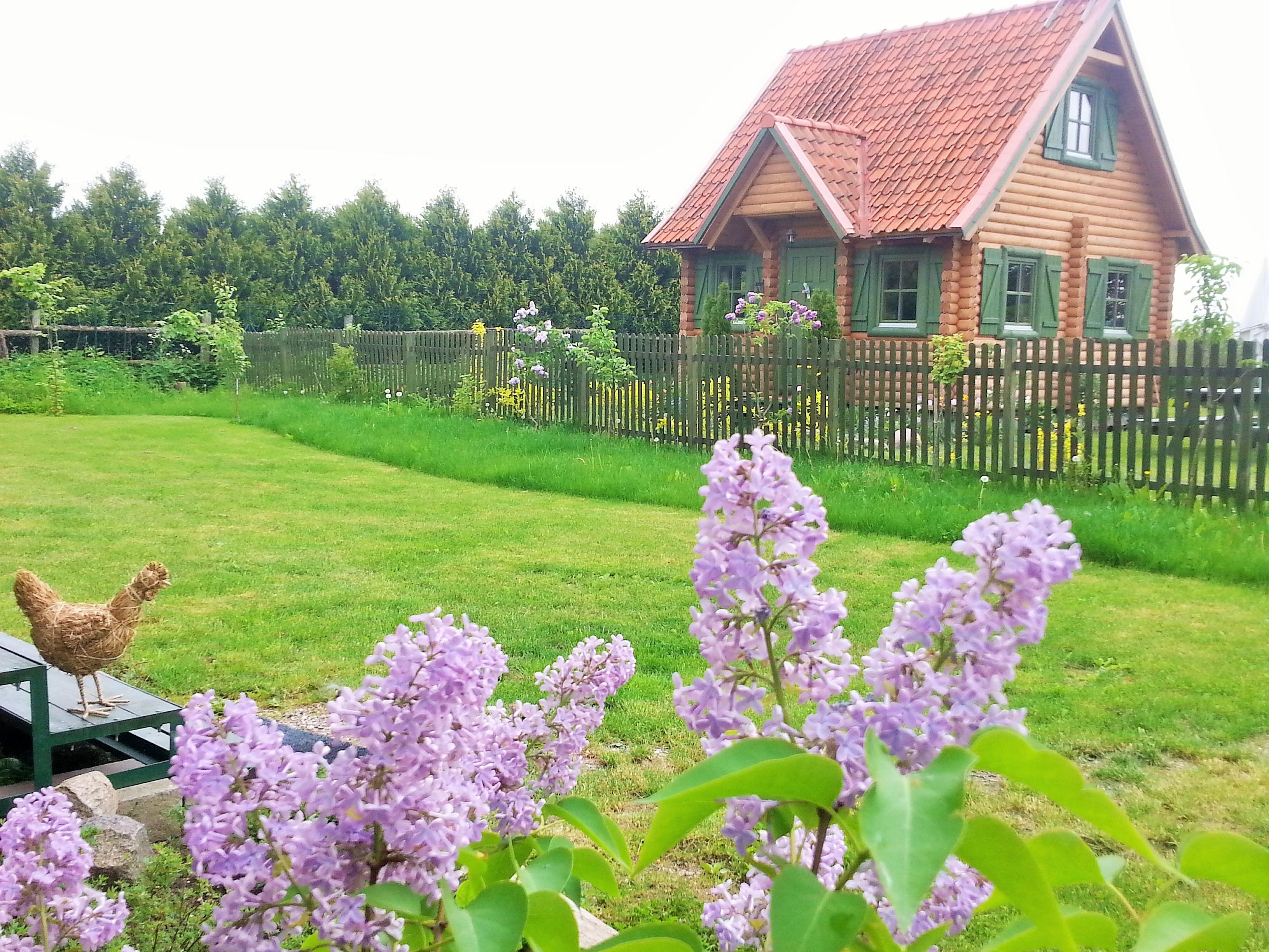 Domki letniskowe na Mazurach, Kal, jezioro Święcajty, wiosenne Mazury