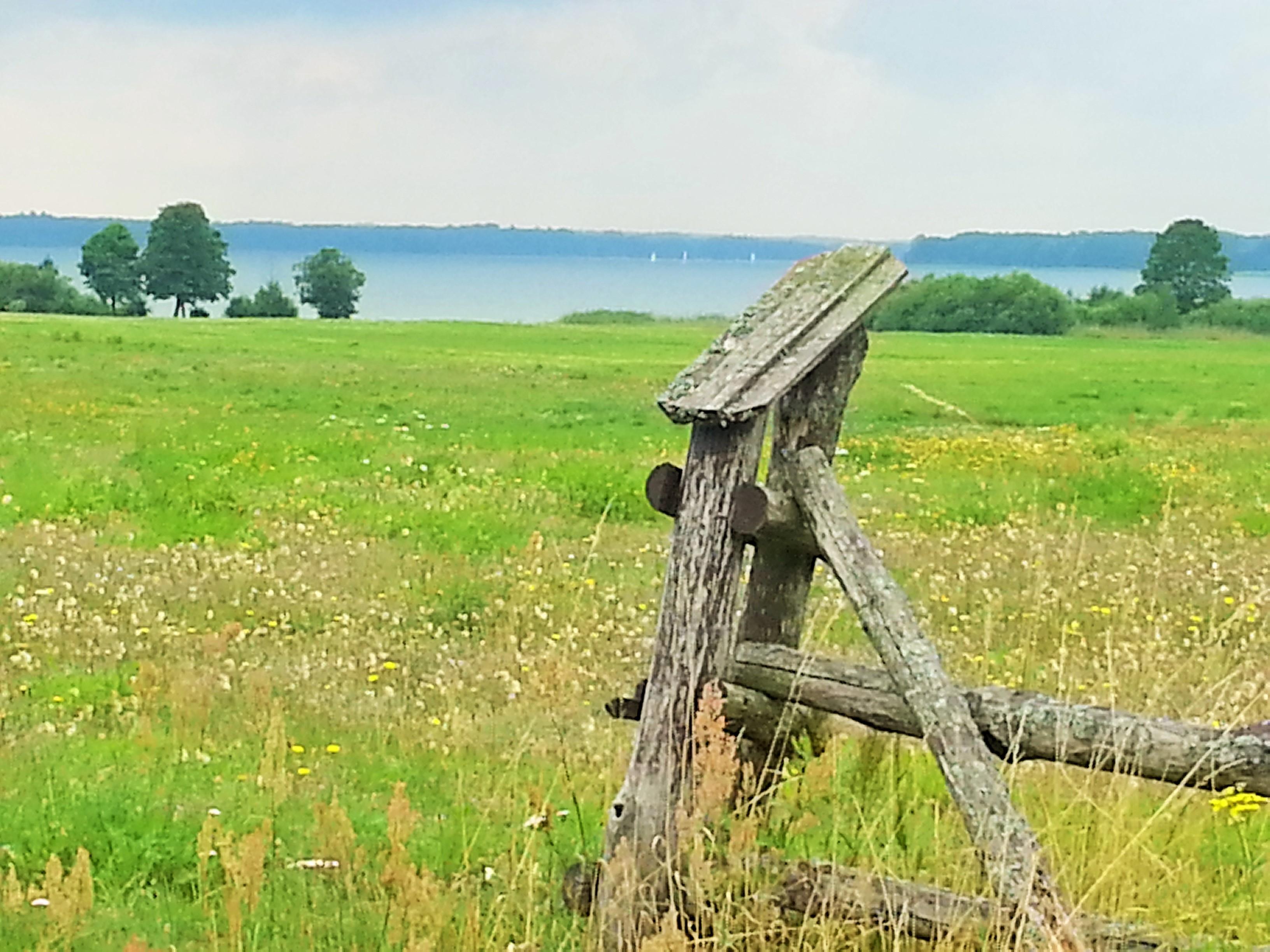Widok na jezioro Mamry