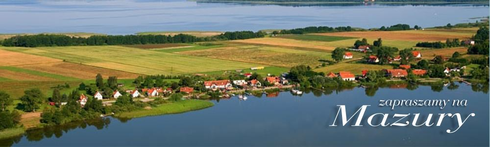 Jezioro Mamry w tle, na pierwszym planie jezioro Święcajty